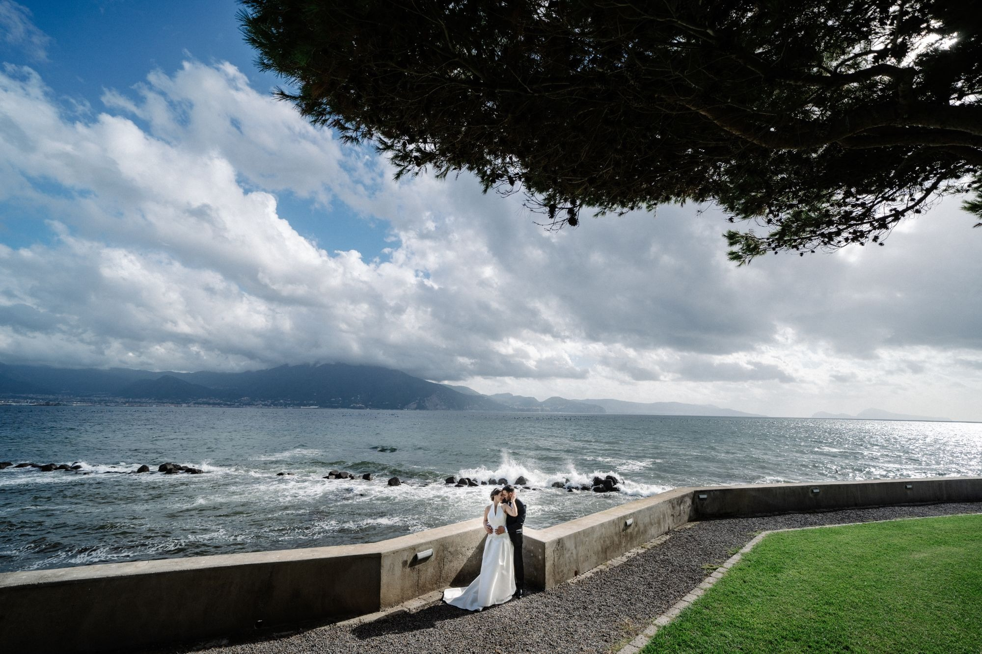 WEDDING IN CHURCH OF SANTA MARIA DELLE GRAZIE, VICO EQUENSE, SORRENTO COAST, ITALY