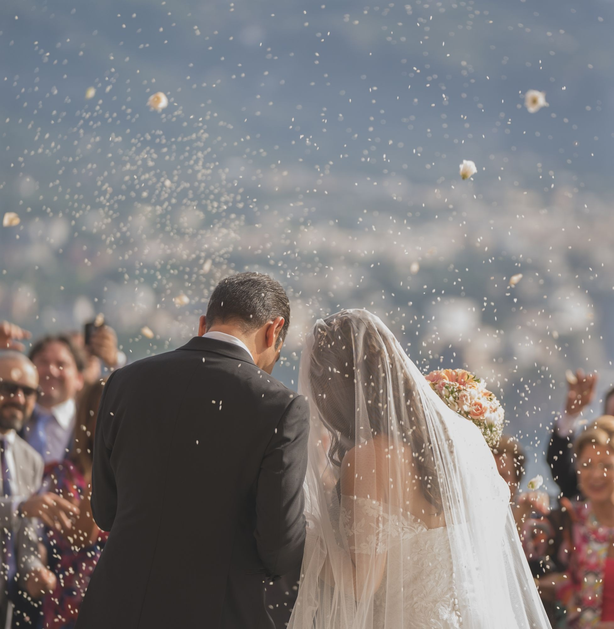 WEDDING IN VILLA TIBERIADE, NAPLES, ITALY